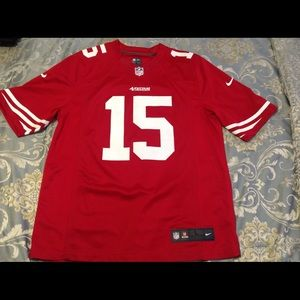 SF 49ers, Michael Crabtree home jersey
